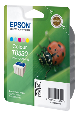 Original Epson T0530 Druckerpatrone Color