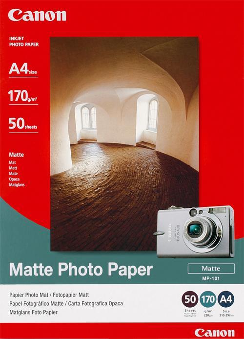 Original Canon MP-101 A4 Matte Photo Paper - 7981A005