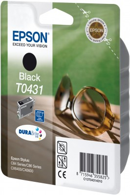 Original Epson T0431 Druckerpatrone Black