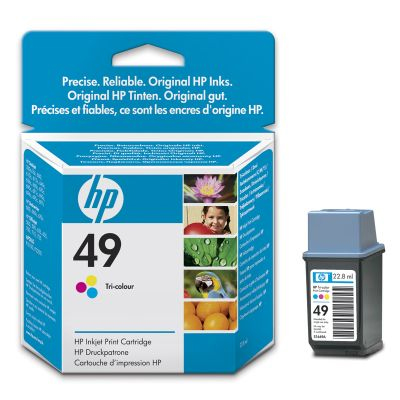 Original HP 51649AE Druckerpatrone Nr.49 Color