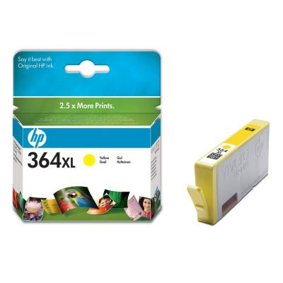 Original HP CB325EE Tintenpatrone HP 364XL Yellow