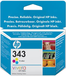 Original HP C8766EE Druckerpatrone Nr.343 Color
