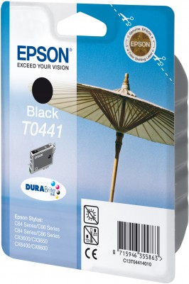 Original Epson T0441 Druckerpatrone Black