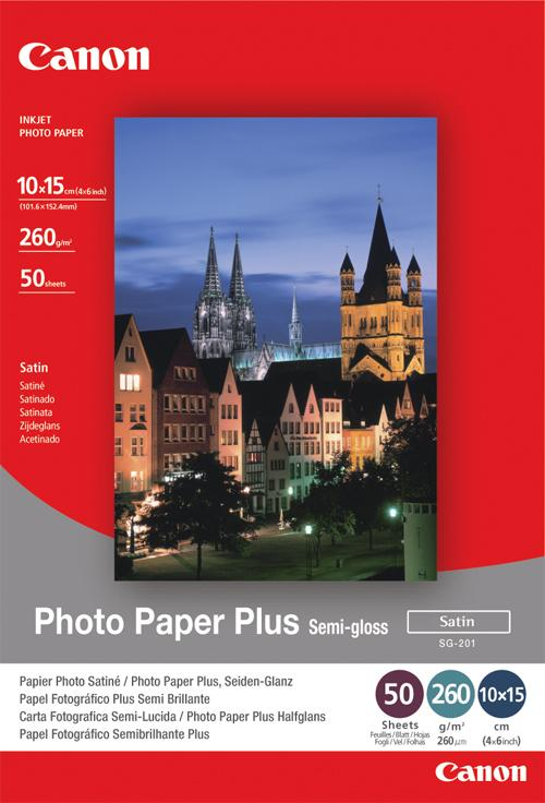 Original Canon SG-201 10x15cm Photo Paper Plus 1686B015