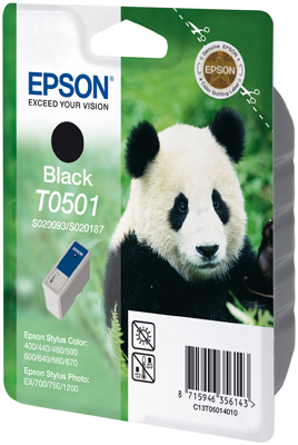 Original Epson T0501 Druckerpatrone Black